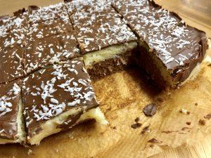 Bounty Kokos Schokolade Schnitten